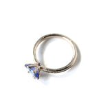Iris Tanzanite Engagement Ring