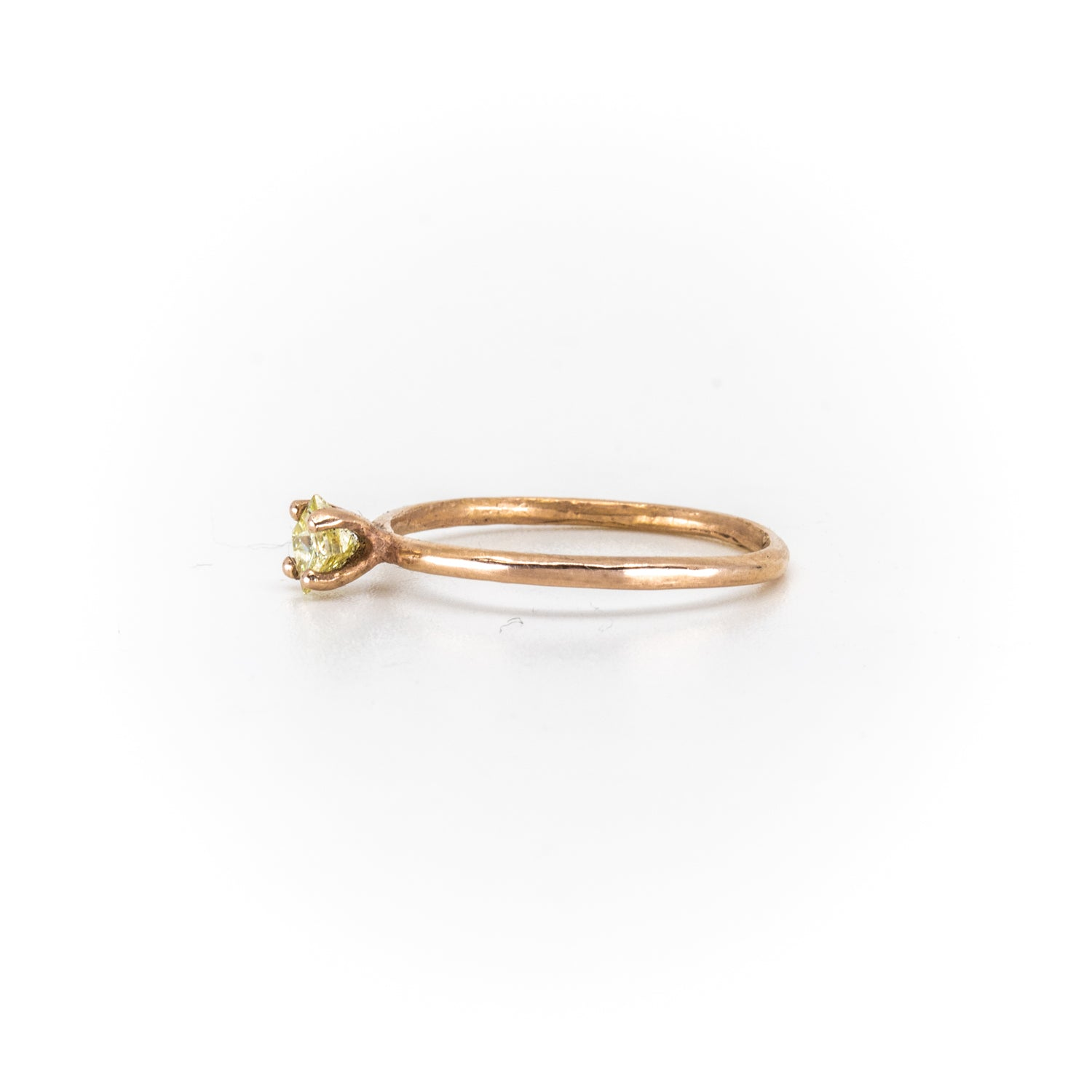 Stello With Yellow Diamond Ring