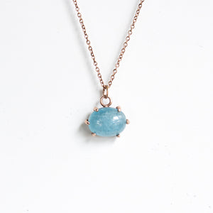 Boudica Aquamarine Necklace