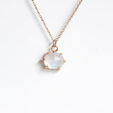 Boudica Rosecut Moonstone Necklace