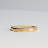 Simplex Thin Gold Band