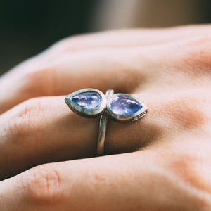 Juno With Tanzanite Engagement Ring
