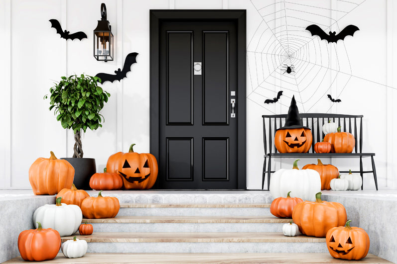 4 Quick Halloween Porch Decor Ideas