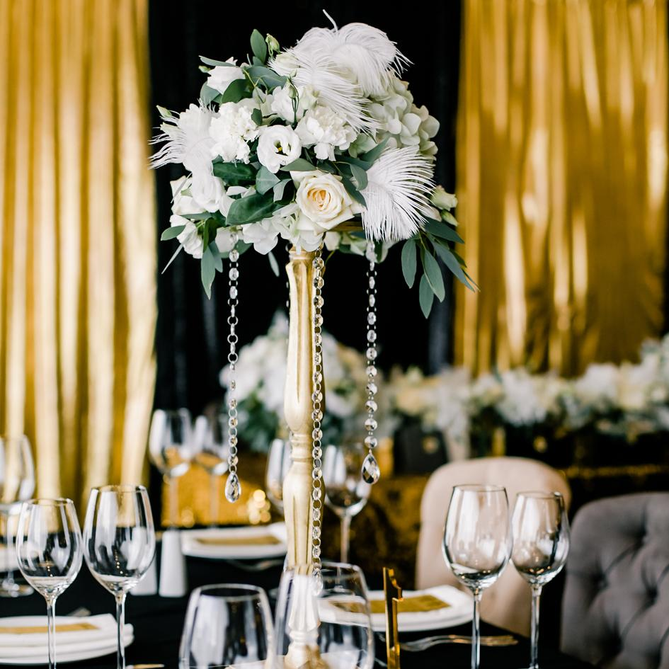 3 Concepts to Steal from a Vintage Glam Wedding