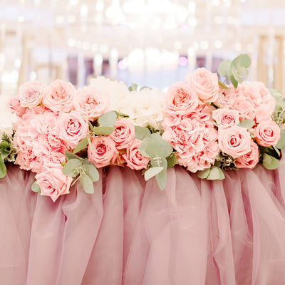 How to Decorate Your Reception Tables with Chiffon Table Runners and Linens