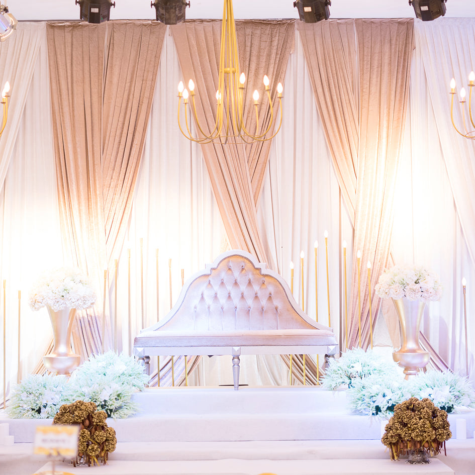 Draping Guide: How Many Drape Panels You Need For The Perfect Backdrop– CV  Linens