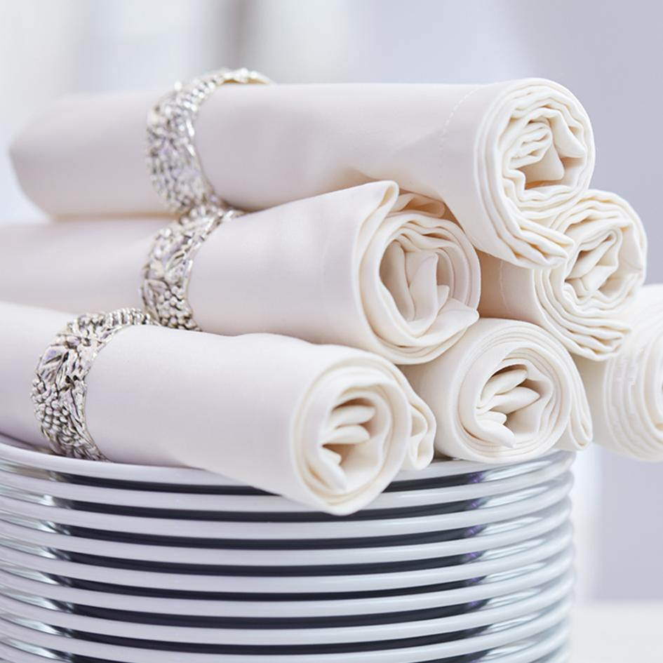 Accessorize Your Reception with Wholesale Napkins