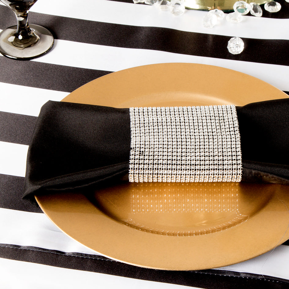 Are you Ready for the Black and White Stripe Tablecloth?