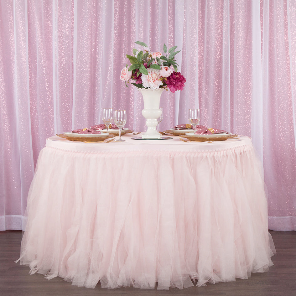 Ballerina Parties are Easier Than Ever With our Tutu Table Skirt!