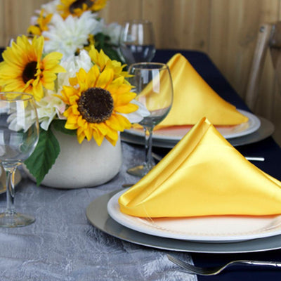 Canary Yellow, Navy, and Silver Modern Color Palette