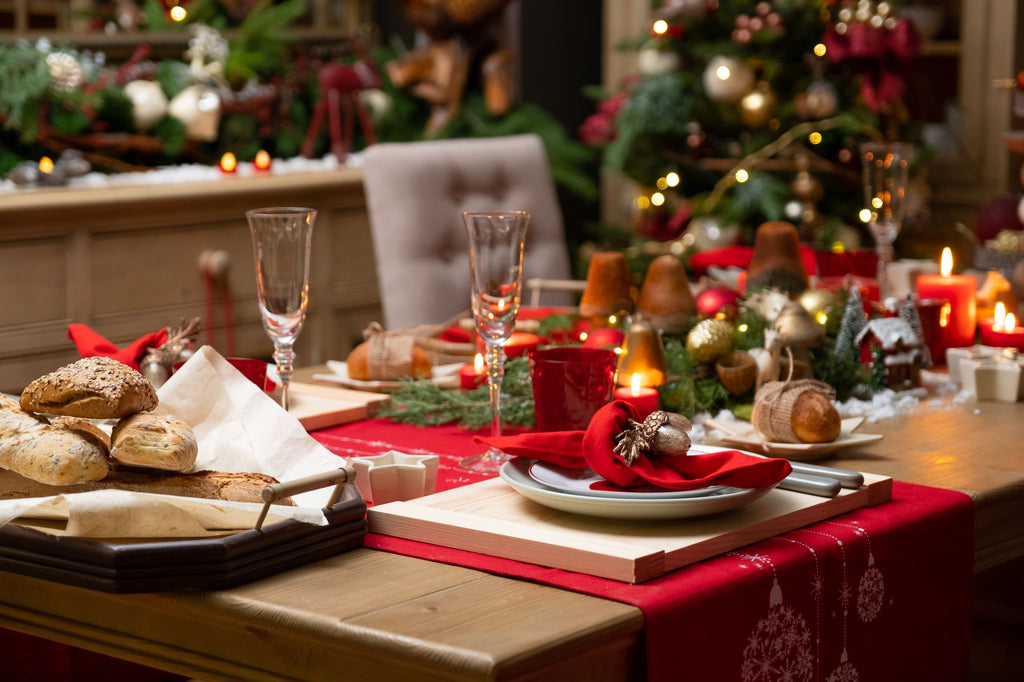 4 Fun and Fancy Table Napkin Folds to Complete Your Christmas Table Setup