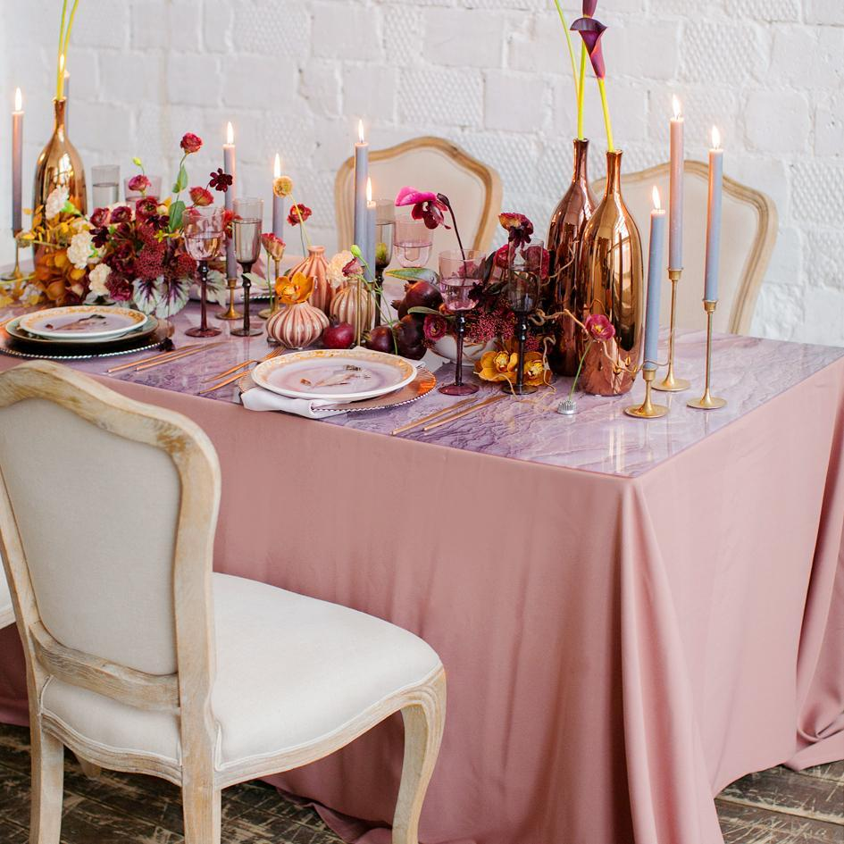 Create a New Look with Event Linens You Already Own