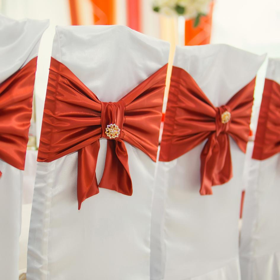 Making the Most of Your Event Chair Band Decor