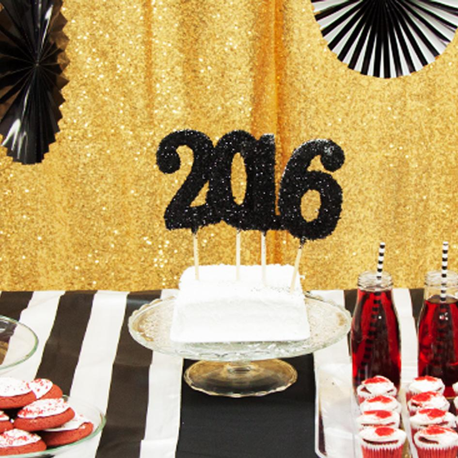 New Year's Eve Dessert Table