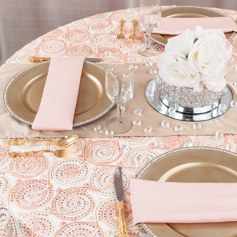 Trending: Blush and Champagne Wedding Palette