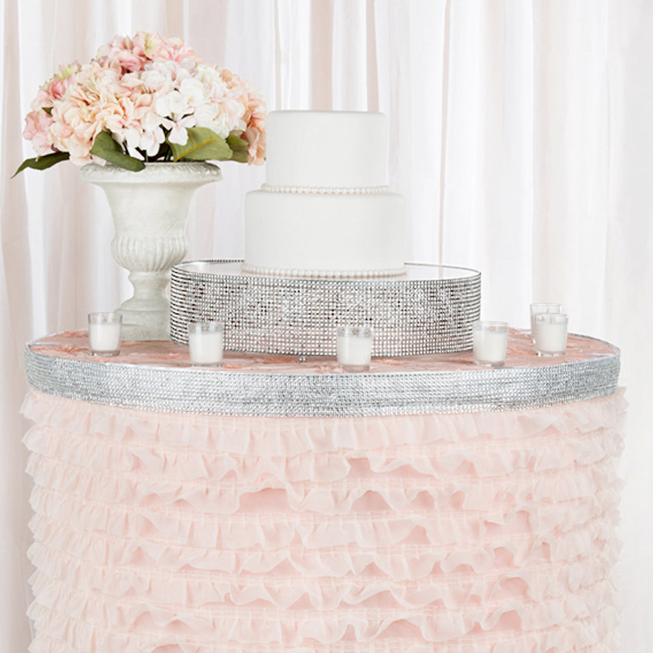 Why We Love Our New Rhinestone Table Skirts