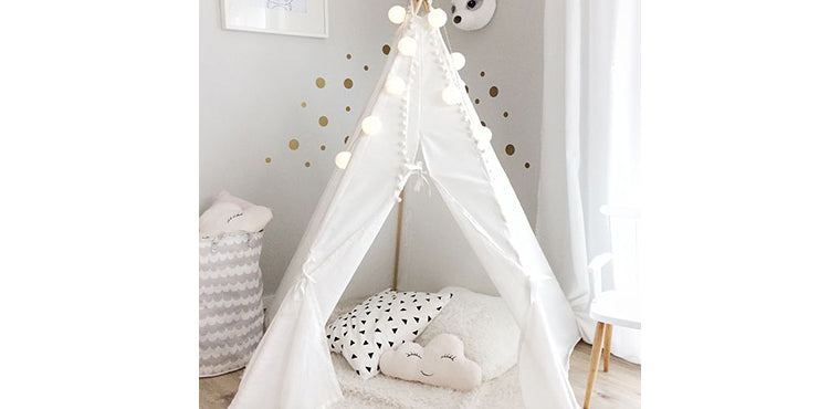 3 Ways to Use Event Drapes After Your Party Kids Teepee