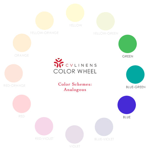 Analgous Color Wheel