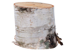 Birch Wood Stand – 6″High x 6″-8″ Diameter