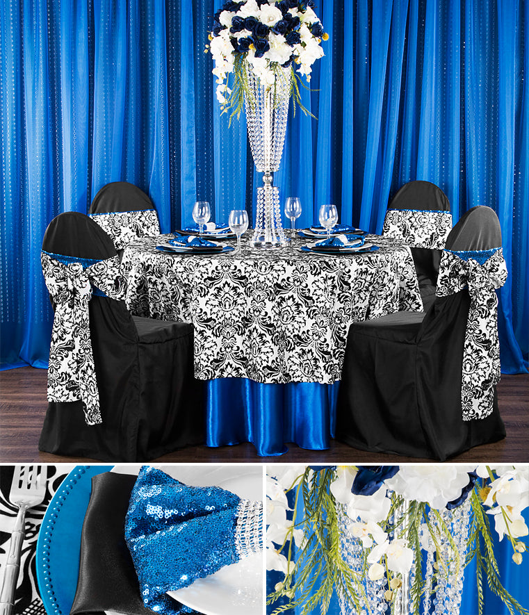 damask tablecloths