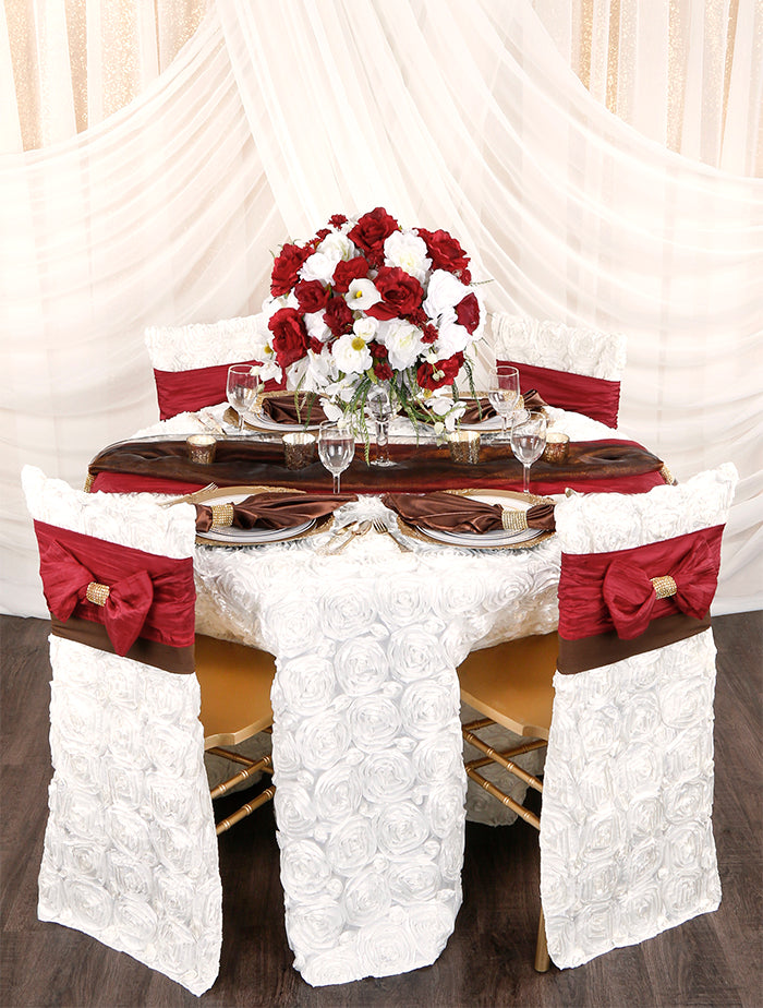 Burgundy-Ivory-Fall-Table-Place-Setting