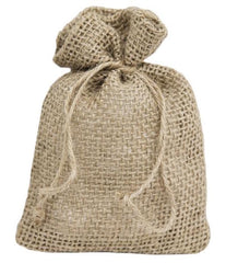 Burlap Party Favor Bag – Natural