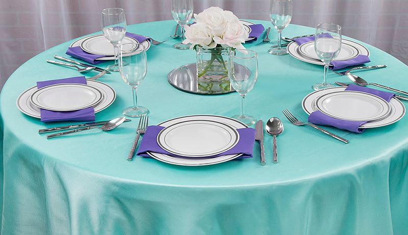 white banquet tablecloths