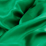 Emerald Satin Fabric Roll