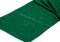 Glitz Sequin Table Runner – Emerald Green