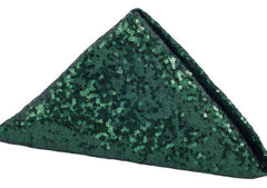 Glitz Sequin Napkin 20″x20″ – Emerald Green