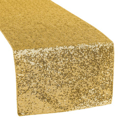 Glitz Sequin Table Runner - Gold
