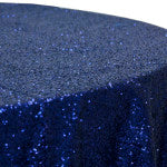 Navy Blue Glitz Sequin