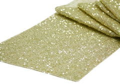 Glitz Sequin Table Runner – Ivory