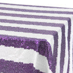 Purple Striped Glitz
