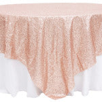 Blush Linen Tablecloth