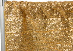 Glitz Sequin Drape/Backdrop panel – Gold