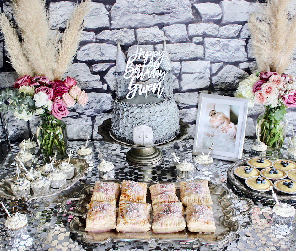 How to First Birthday Party Cake Dessert Table Decor