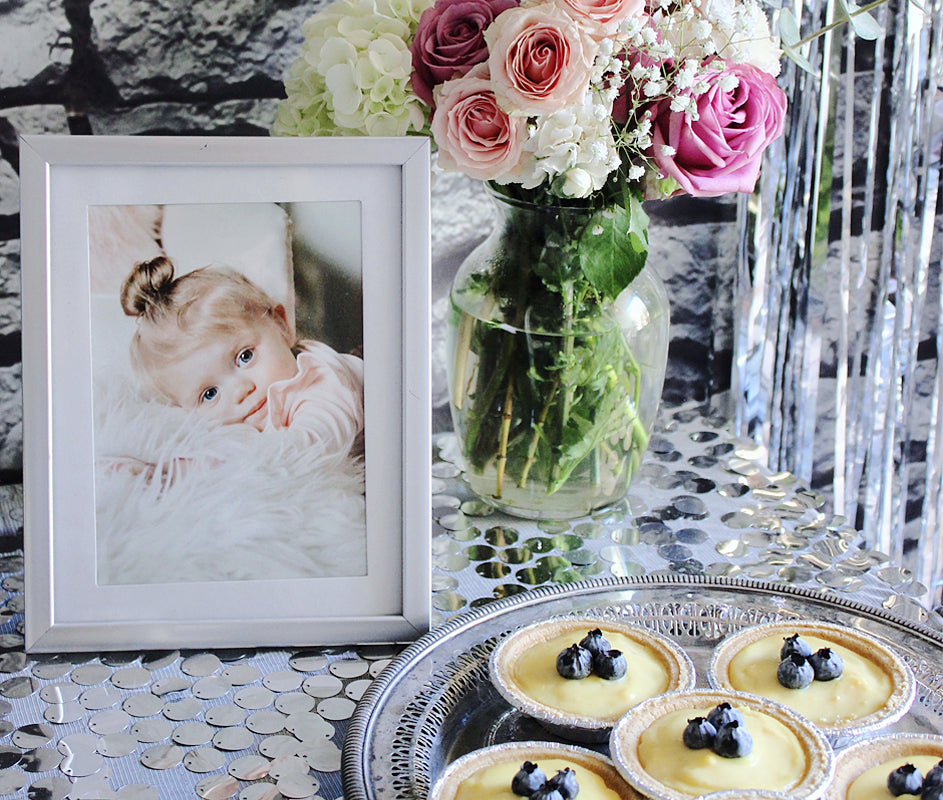 First Birthday Party Guest Book Table Framed Photo Decorations