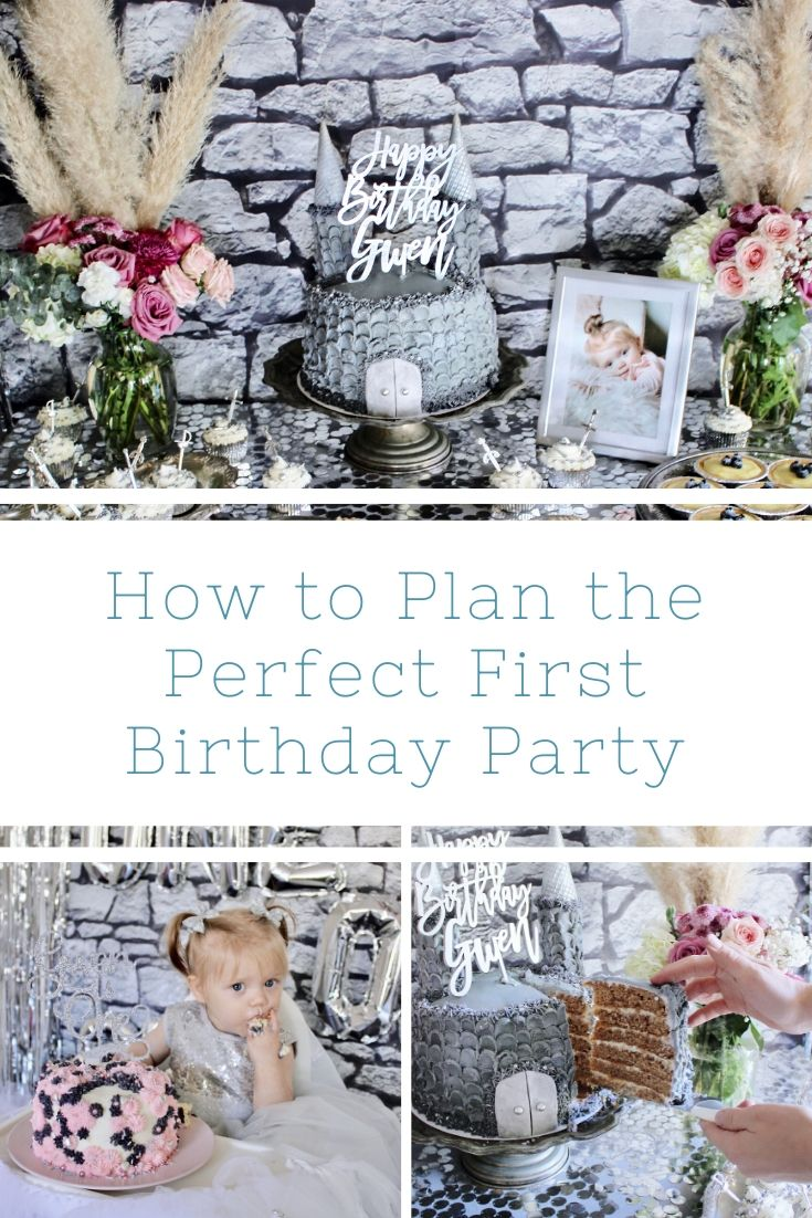 How to Plan the Perfect First Birthday Party Pinterest