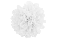 Jumbo Taffeta Fabric Flower - White
