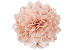 Jumbo Taffeta Fabric Flower - Blush