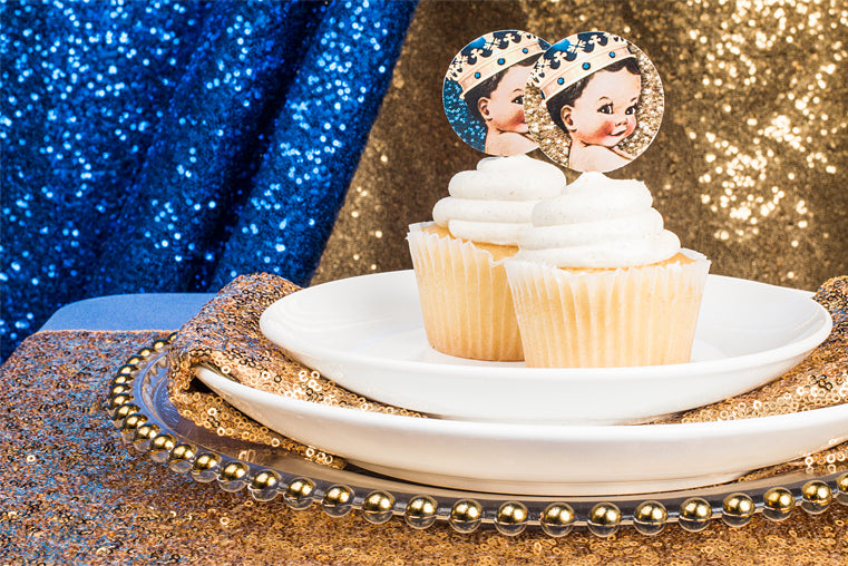 Little Prince Cupcake DIY Toppers Free Printables