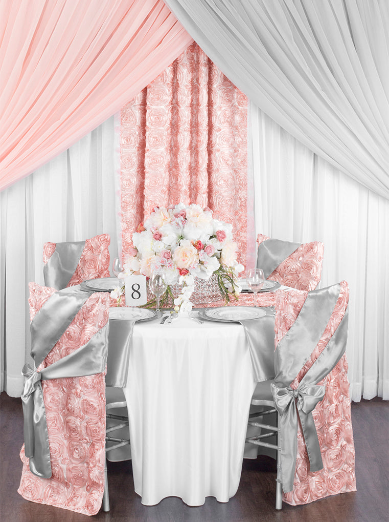 Blush Pink and Silver Wedding Theme