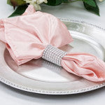 Blush Satin Napkin