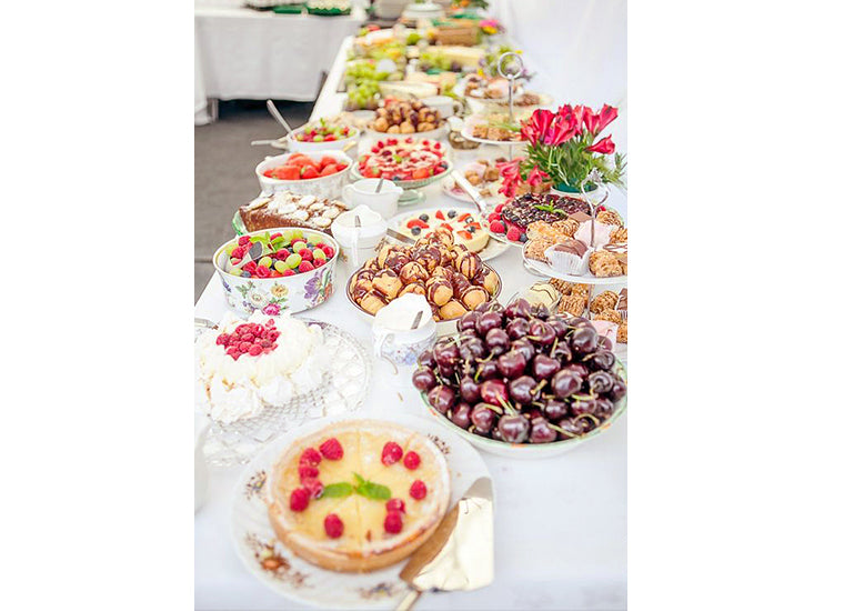 Secret to Affordable Home Wedding Decorations Ceremony Buffet Table