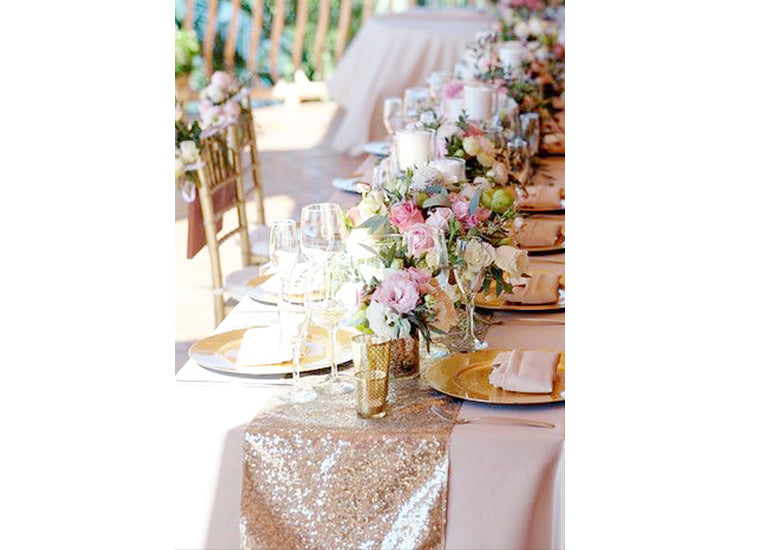 Secret to Affordable Home Wedding Decorations Ceremony Guest Tables