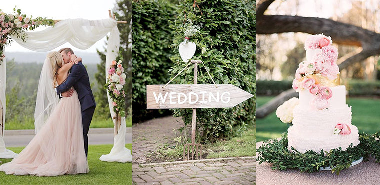 Secret to Affordable Home Wedding Decorations Featured