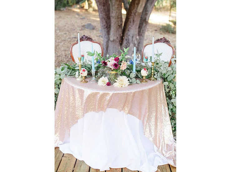 Secret to Affordable Home Wedding Decorations Reception Sweetheart Table