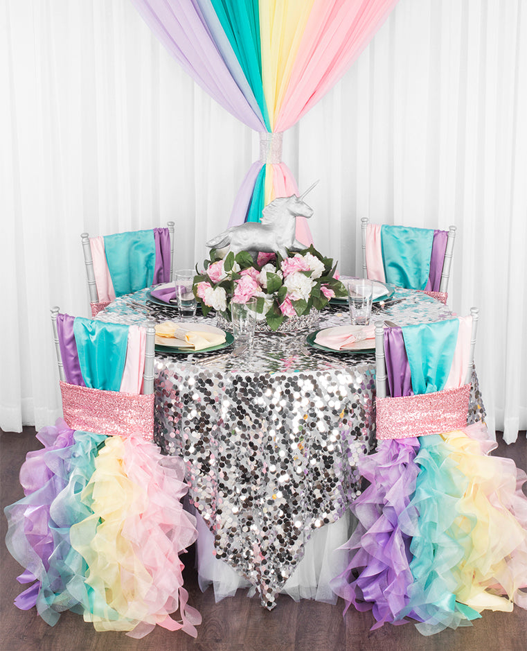 Enchanted Unicorn Party decor