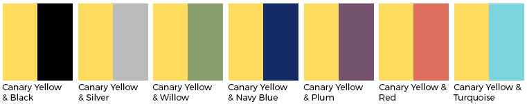 canary yellow wedding color wedding linens